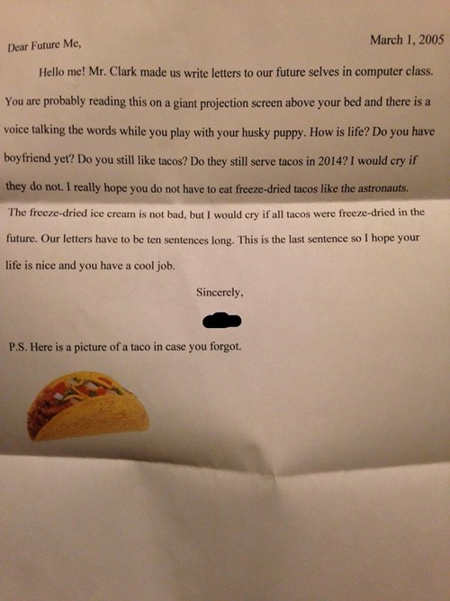 tacos kids letters parenting g rated - 8091815680