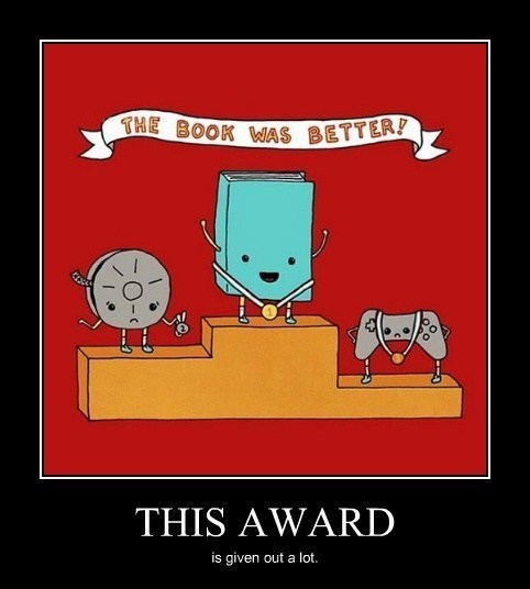 Awards,movies,books,video games,funny