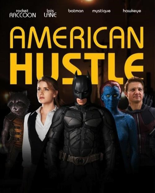 acting,american hustle,superheroes