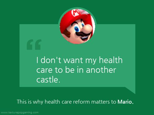 health care,Pokémon,crash bandicoot,list,Health Care Reform,mario,pyro,Video Game Coverage