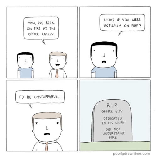 fire idiots web comics - 8091993088