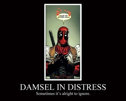 cute deadpool funny damsel - 8092022784