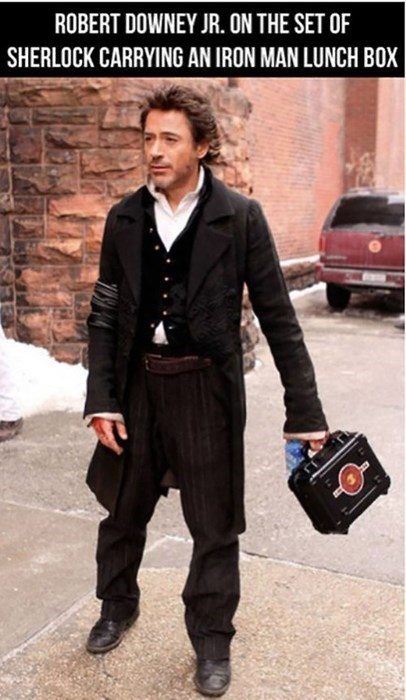 celeb iron man robert downey jr Sherlock - 8092033536
