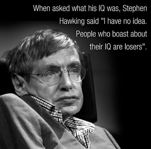 IQ intelligence quotes stephen hawking - 8092116992