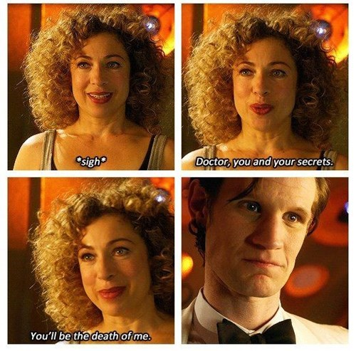 11th Doctor,awkward moments,River Song