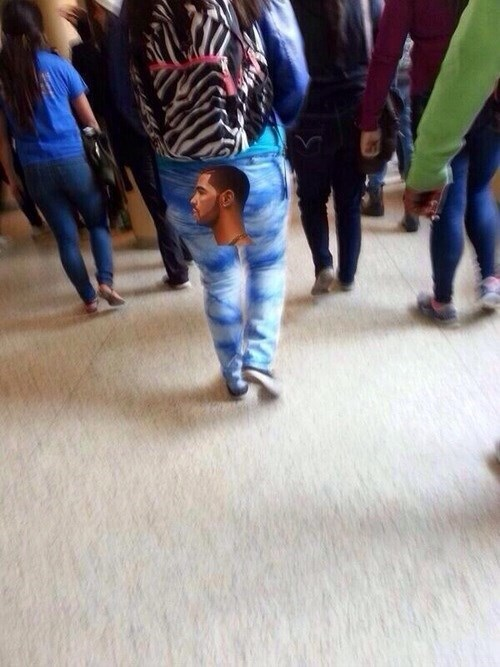 Drake clouds pants poorly dressed - 8092239616