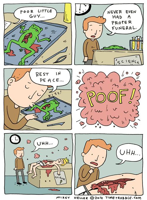 mindwarp frogs web comics