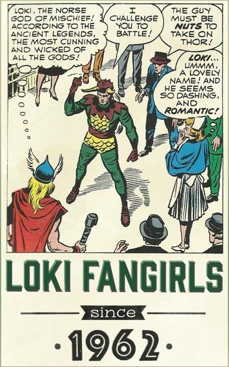 fangirls marvel superheroes loki tom hiddleston Thor tumblr The Avengers - 8092350720