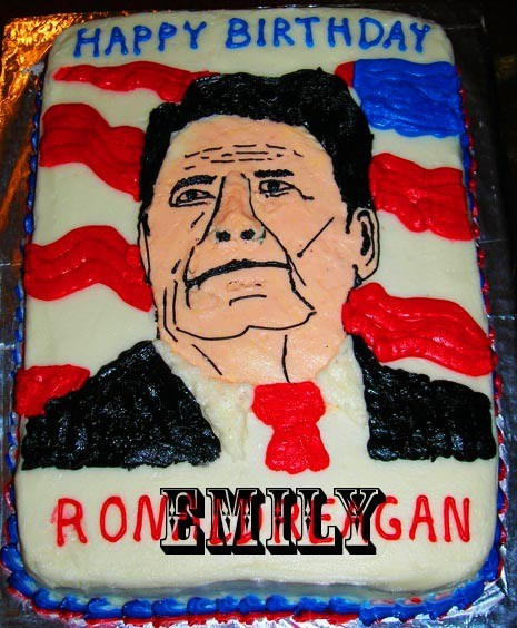 cake,cakes,Ronald Reagan