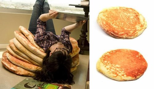 Pillow,design,pancakes,food