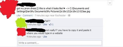 computers facepalm facebook - 8092403968