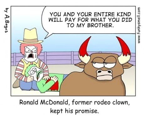 Ronald McDonald,origin,web comics