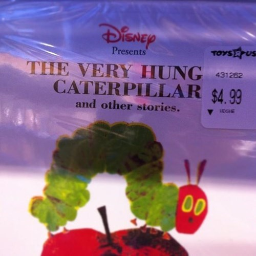 the very hungry caterpillar,kids,parenting