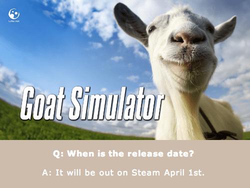 goat simulator Video Game Coverage - 8093260544