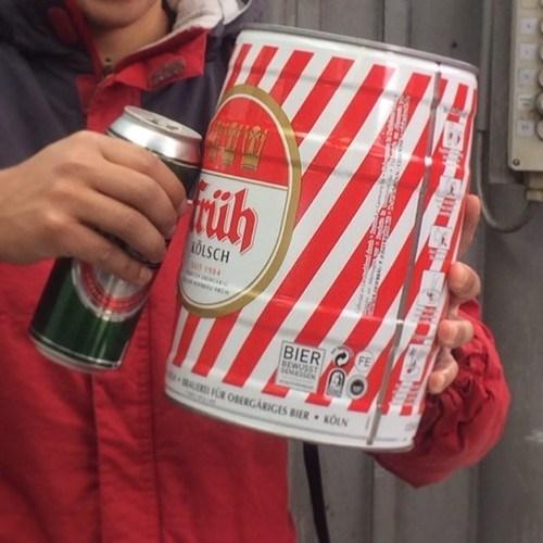 beer,beer can,huge,funny