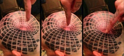 mind blown,tattoos,illusion