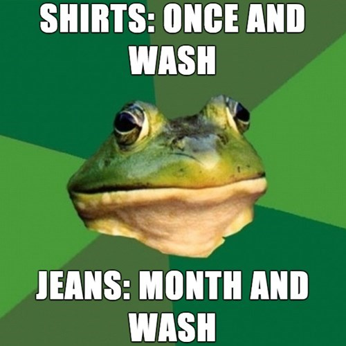 laundry,bros,foul bachelor frog
