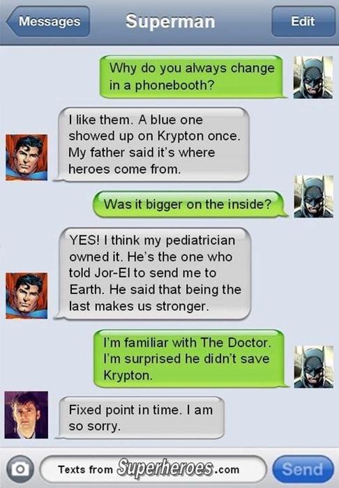 10th doctor batman superman - 8093525248