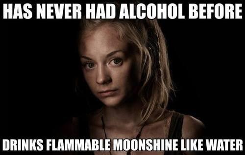 drinks beth greene The Walking Dead - 8093561856