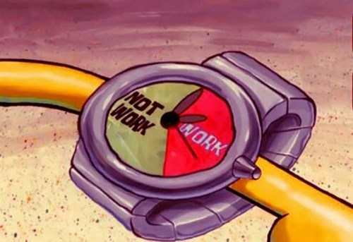 monday thru friday work SpongeBob SquarePants watch Pie Chart - 8093598464