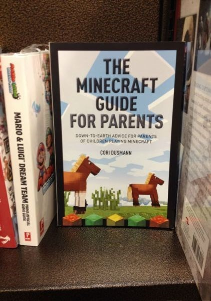 kids,parenting,minecraft,books,g rated