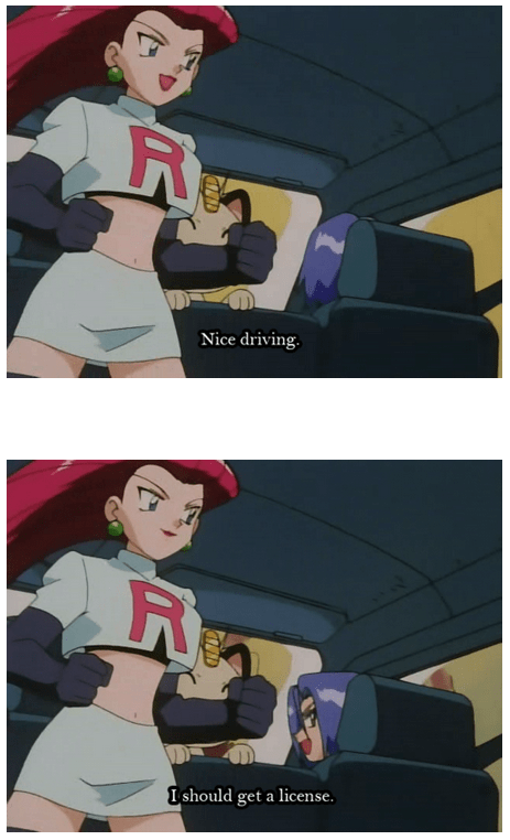 Pokémon Team Rocket jessie and james
