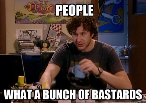 people suck,people,the IT crowd