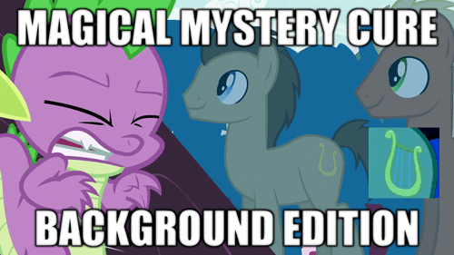 background pony,cutie mark,doctor whooves,spike