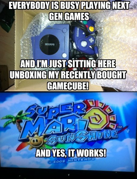 gamecube nostalgia super mario sunshine - 8094113792
