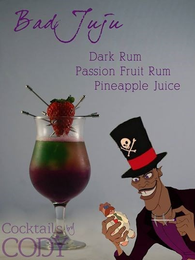 cocktails,bad juju,awesome,voodoo