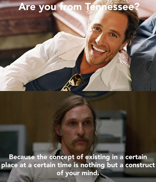 matthew mcconaughey,love notes,funny,true detective,dating