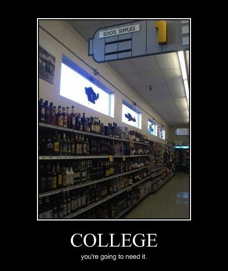 booze lecture funny college - 8094734336