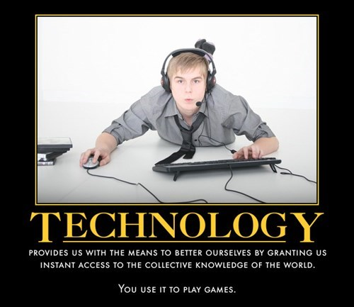 The Internets Technology Video Games Funny