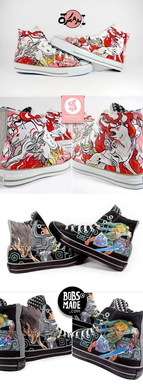 custom video games sneakers - 8094853120