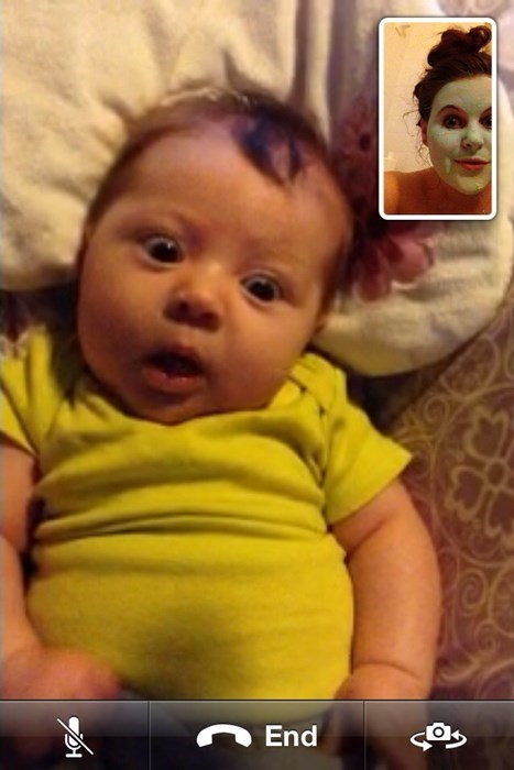 baby,parenting,facetime