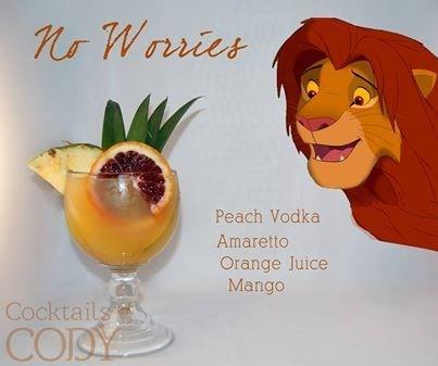 hakuna matata cocktails lion king funny - 8094901248