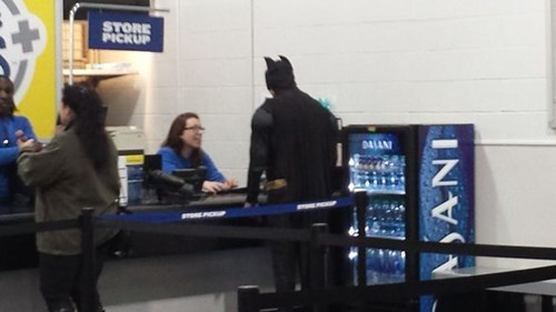 monday thru friday,costume,best buy,poorly dressed,batman,g rated