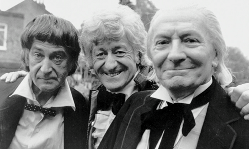 2nd doctor classic who behind the scenes 3rd doctor 1st doctor - 8094911488