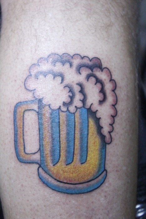 beer tattoos funny - 8094924544