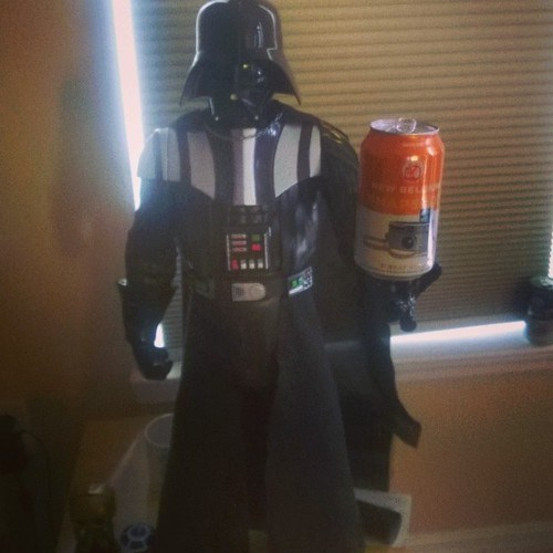 beer,star wars,funny,darth vader