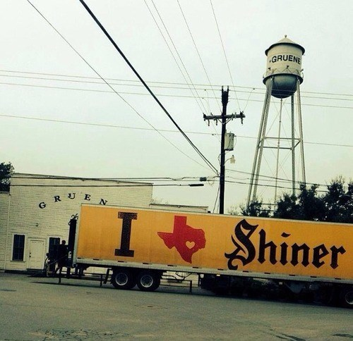 beer,ads,truck,shiner bock,texas,funny