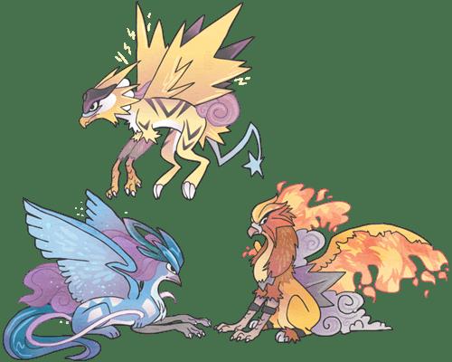 Pokémon Fan Art gryphons - 8094979584