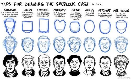 Fan Art How To Sherlock - 8095025408