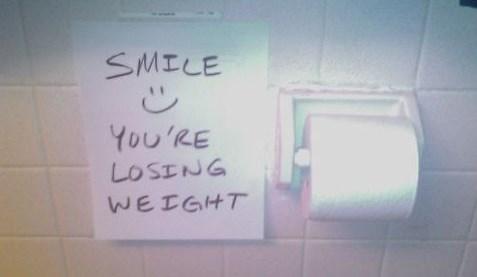 Bathroom Graffiti wisdom toilet true facts - 8095084800
