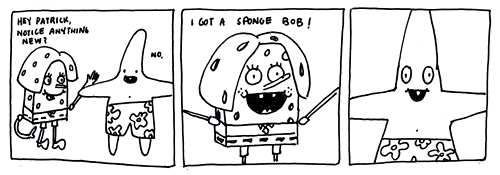 patrick star,SpongeBob SquarePants,puns,web comics