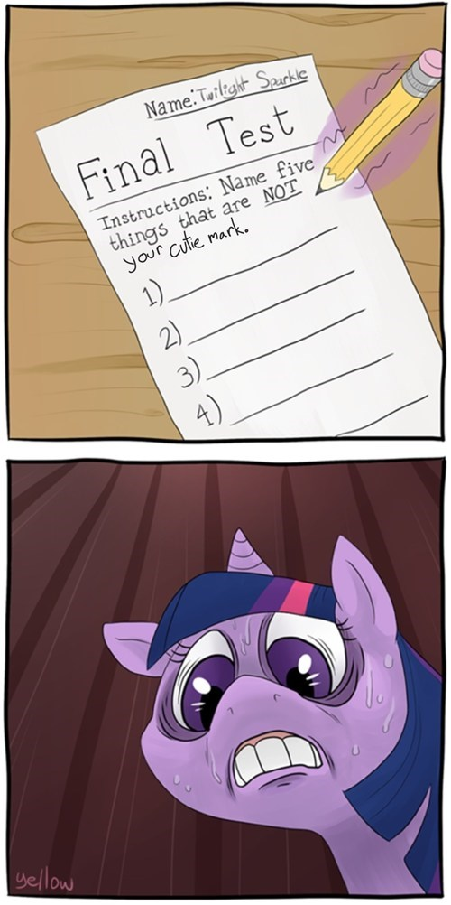 cutie mark tests twilight sparkle - 8095243264