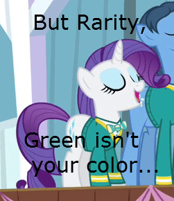 green,ponytones,rarity