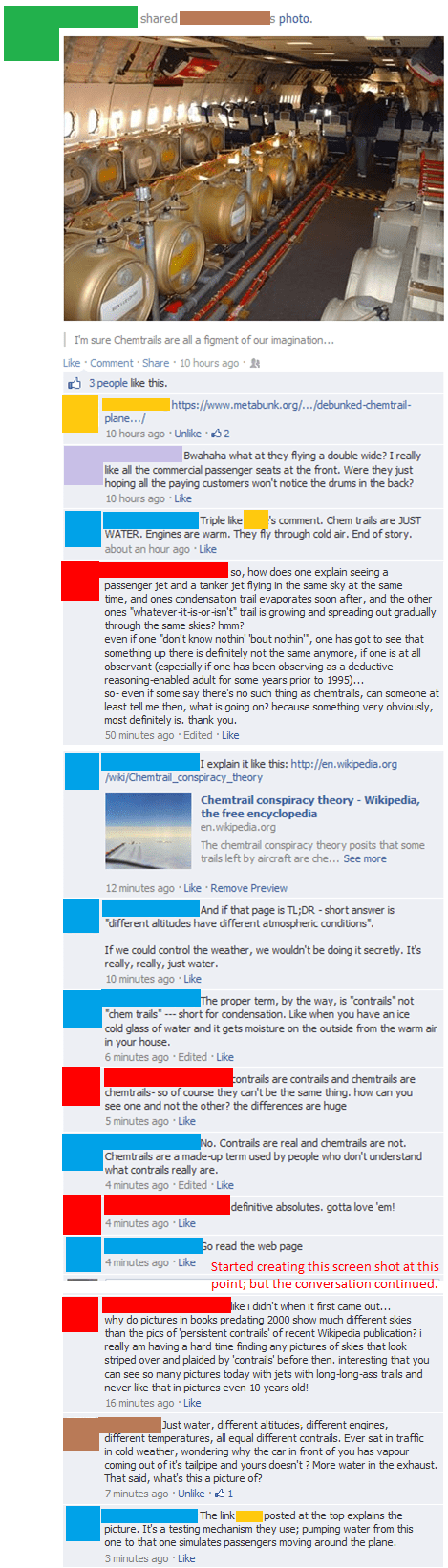 conspiracy Chemtrails facepalm failbook g rated - 8095430656