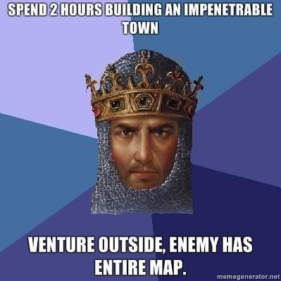 age of empires rts video games