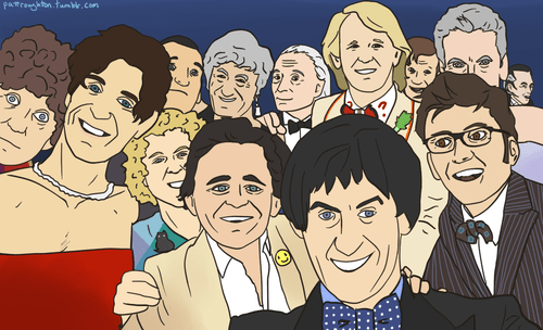 doctor who Fan Art oscars selfie - 8096174080